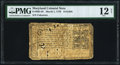 Colonial Notes:Maryland, Maryland March 1, 1770 $1/6 PMG Fine 12 Net.. ...