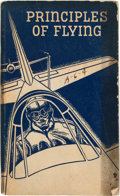Explorers:Space Exploration, U.S. Navy: Principles of Flying, Directly From The Armstrong Family Collection™, CAG Certified....