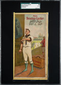 Baseball Cards:Singles (Pre-1930), 1912 Boston Garter Frank Chance SGC Authentic - Only Two Graded Examples! ...