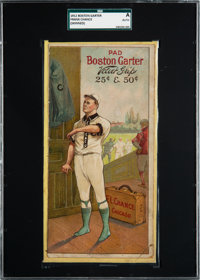 1912 Boston Garter Frank Chance SGC Authentic - Only Two Graded Examples!