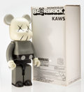 Collectible:Contemporary, KAWS X BE@RBRICK. Companion 1000% (Grey), 2002. Painted cast vinyl. 28 x 13-1/4 x 9-1/2 inches (71.1 x 33.7 x 24.1 cm). ...