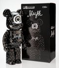 Collectible:Contemporary, BE@RBRICK X MMFK. Black 1000%, 2016. Painted cast resin. 28-1/2 x 14-1/2 x 9 inches (72.4 x 36.8 x 22.9 cm). Ed. 37/1000...