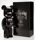 Collectible:Contemporary, BE@RBRICK X Stussy. Black Stüssy 1000%, 2006. Painted cast resin. 28 x 13-1/2 x 9 inches (71.1 x 34.3 x 22.9 cm). Ed. 10...