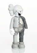 Collectible:Print, KAWS (b. 1974). Dissected Companion (Grey), 2016. Painted cast vinyl. 10-1/2 x 4-1/2 x 2-1/2 inches (26.7 x 11.4 x 6.4 c...