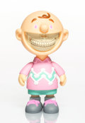 Collectible:Contemporary, Ron English X Made by Monsters. Charlie Grin (Pink/Green), 2017. Painted cast vinyl. 6-1/2 x 3-1/2 x 3-3/4 inches (16.5 ...