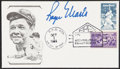 Autographs:Post Cards, 1986 Roger Maris Signed Babe Ruth First Day Cover - Postmarked to the 25th Anniversary of his 61st Home Run....