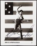 Autographs:Photos, Bruce Springsteen Signed Photograph....