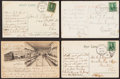 Autographs:Post Cards, c. 1900s Rube Marquard Signed Postcard Lot of 4....