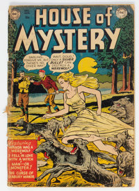 House of Mystery #1 (DC, 1952) Condition: FR