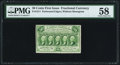 Fractional Currency:First Issue, Fr. 1311 50¢ First Issue PMG Choice About Unc 58.. ...