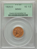 1925-D $2 1/2 MS62 PCGS. PCGS Population: (4201/7228). NGC Census: (6881/9438). MS62. Mintage 578,000. ...(PCGS# 7949)