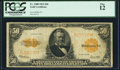 Large Size:Gold Certificates, Fr. 1200 $50 1922 Gold Certificate PCGS Fine 12.. ...