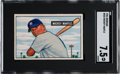 Baseball Cards:Singles (1950-1959), 1951 Bowman Mickey Mantle #253 SGC NM+ 7.5....