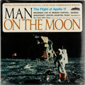 Explorers:Space Exploration, Vinyl: Roy Neal Man On The Moon - The Flight Of Apollo 11 (Evolution) Original 33RPM Stereo Album Directly From Th...