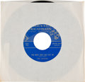 """VINYL: """"Three Times Around / You Went Away and Left Me"""" 45 RPM Record by Dick Jones, Teri Jackson Directly Fro..."""