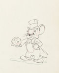 Animation Art:Production Drawing, The Country Cousin Animation Drawings Group of 3 (WaltDisney, 1936).. ... (Total: 3 Items)