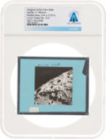 Explorers:Space Exploration, Apollo 11 Original NASA Glass Film Slide, an Image of I.A.U. Crater No. 312, Directly From The Armstrong Family Collection™, C...
