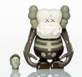 Collectible:Contemporary, KAWS X Bounty Hunter. Skull Kun (Brown), 2006. Painted cast vinyl. 6-1/2 x 5-1/4 x 3-1/4 inches (16.5 x 13.3 x 8.3 cm) (...