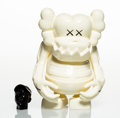 Collectible:Contemporary, KAWS X Bounty Hunter. Skull Kun (White), 2006. Painted cast vinyl. 6-1/2 x 5-1/4 x 3-1/4 inches (16.5 x 13.3 x 8.3 cm) (...