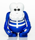 Collectible:Contemporary, Bounty Hunter . Skull Kun (Blue). Painted cast vinyl. 6-1/2 x 5 x 4 inches (16.5 x 12.7 x 10.2 cm). Ed. 203/984. Stamped...