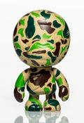 Collectible:Contemporary, BAPE X Pepsi NEX. Baby Camo Milo (Green), 2001. Painted cast vinyl. 4-3/4 x 2-3/4 x 2-1/2 inches (12.1 x 7 x 6.4 cm). St...