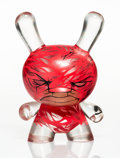 Collectible:Contemporary, RunDMB X Kidrobot. Nearly Invisible Man Dunny (Red), 2012. Painted cast resin. 8 x 5-1/4 x 4 inches (20.3 x 13.3 x 10.2 ...