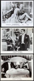 """Movie Posters:Comedy, How to Marry a Millionaire (20th Century Fox, 1953). Overall: Very Fine. Photos (3) (8"""" X 10"""") & Program (8.5"""" X 6""""). Comedy... (Total: 4 Items)"""