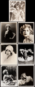 """Movie Posters:Miscellaneous, Mae Murray & Other Lot (MGM, c. Late 1920s). Very Fine-. Photos (5) & Keybook Photos (2) (7.75"""" X 9.75"""" - 8"""" X 10""""). Miscell... (Total: 7 Items)"""