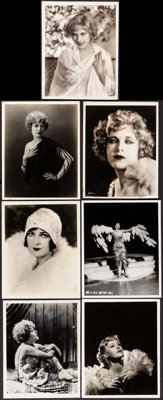 "Mae Murray & Other Lot (MGM, c. Late 1920s). Very Fine-. Photos (5) & Keybook Photos (2) (7.75"" X 9..."