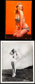 """Movie Posters:Miscellaneous, Marilyn Monroe (1980s). Very Fine-. Restrike Photo (8"""" X 10"""") &Postcard (6"""" X 9""""). Miscellaneous.. ... (Total: 2 I..."""