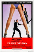 "Movie Posters:James Bond, For Your Eyes Only (United Artists, 1981). Folded, Very Fine-. OneSheet (27"" X 41""). James Bond.. ..."
