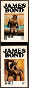 """Movie Posters:James Bond, James Bond Lot (Zwarte Beertjes, 1970s). Overall: Very Fine. Dutch Paperback Books (12) (Multiple Pages, 4.5"""" X 7""""). James B... (Total: 12 Items)"""