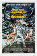 "Movie Posters:James Bond, Moonraker (United Artists, 1979). Folded, Near Mint. One Sheet (27""X 41""). Dan Goozee Artwork. James Bond.. ..."