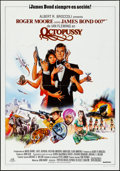 "Movie Posters:James Bond, Octopussy (MGM/UA, 1983). Folded, Very Fine. Spanish One Sheet(27.5"" X 39""). Dan Goozee Artwork. James Bond.. ..."