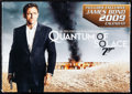 "Movie Posters:James Bond, Quantum of Solace (MGM, 2008). Very Fine/Near Mint. Sealed DVD withCalendar (10.75"" X 7.75""), Program (12 Pages, 6"" X 9""), ... (Total:12 Items)"
