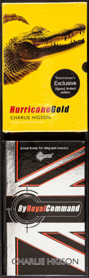 Young James Bond: Hurricane Gold by Charlie Higson (Puffin, 2007). Very Fine/Near Mint. Sealed, Signed, Limited Edition...