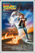 "Movie Posters:Science Fiction, Back to the Future (Universal, 1985). Rolled, Very Fine. One Sheet(27"" X 41""). SS, Drew Struzan Artwork. Science Fiction.. ..."