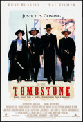 "Movie Posters:Western, Tombstone (Buena Vista, 1993). Rolled, Very Fine-. One Sheet (27"" X40"") DS Advance. Western.. ..."