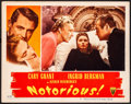 "Movie Posters:Hitchcock, Notorious (RKO, 1946). Very Fine-. Lobby Card (11"" X 14"").Hitchcock.. ..."
