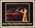 "Movie Posters:Drama, Rebel Without a Cause (Warner Brothers, 1955). Very Fine. LobbyCard (11"" X 14""). Drama.. ..."
