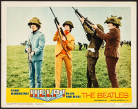 """Help! (United Artists, 1965). Very Fine-. Lobby Card (11"""" X 14""""). Rock and Roll"""