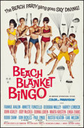 "Movie Posters:Comedy, Beach Blanket Bingo (American International, 1965). Folded, VeryFine-. One Sheet (27"" X 41""). Comedy.. ..."