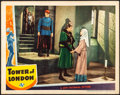 "Movie Posters:Horror, Tower of London (Universal, 1939). Very Fine-. Lobby Card (11"" X14""). Horror.. ..."