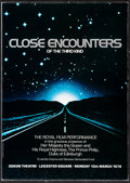 "Movie Posters:Science Fiction, Close Encounters of the Third Kind (Columbia, 1978). Fine/Very Fine. Royal Film Premiere Program (114 Pages, 8.5"" X 11.75"")...."