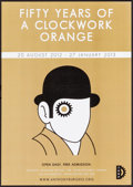 "Movie Posters:Science Fiction, A Clockwork Orange (IABF, R-2012). Very Fine. British Window Card (11.75"" X 16.5""). David Pelham Artwork. Science Fiction.. ..."