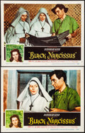 "Movie Posters:Drama, Black Narcissus (Universal, 1947). Very Fine/Near Mint. Lobby Cards(2) (11"" X 14""). Drama.. ... (Total: 2 Items)"