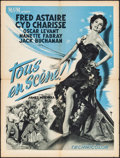 "Movie Posters:Musical, The Band Wagon (MGM, 1954). Folded, Fine/Very Fine. French Moyenne(23.75"" X 31.5""). Musical.. ..."