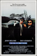 "Movie Posters:Comedy, The Blues Brothers (Universal, 1980). Folded, Very Fine-. One Sheet(27"" X 41""). Comedy.. ..."