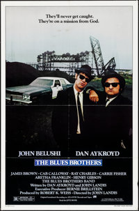 """The Blues Brothers (Universal, 1980). Folded, Very Fine-. One Sheet (27"""" X 41""""). Comedy"""