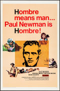 "Movie Posters:Western, Hombre (20th Century Fox, 1966). Folded, Very Fine. One Sheet (27""X 41""). Western.. ..."